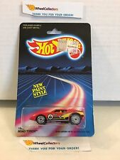 Road Torch 1500 * RED * 1986 Malaysia * Vintage Hot Wheels * J11