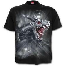 Spiral - DRAGON'S CRY - Men's Black Short Sleeve T-Shirt