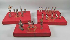 4 Sets Traditions Soldiers #810 German Infantry+N1A+N1B+N1D French Grenadiers