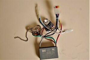 HUNTER CEILING FAN NEW PARTS - 0401 WIRING HARNESS-CAPACITOR/REV.SW./POWER SW