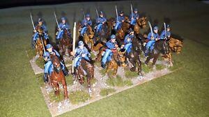 28mm ACW Union cavalry x 12