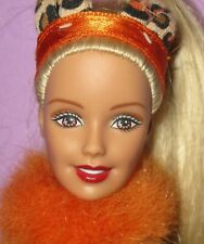 Barbie Maskerade Party Masquerade Cat Cheetah Halloween Dress Up Doll Ooak Play