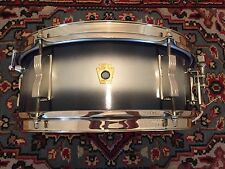 1965 Keystone Badge Silver & Blue Duco 5x14 LUDWIG PIONEER w/ Nickel Hardware