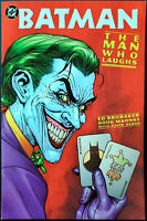 Batman The Man Who Laughs TPB NM+ 9.6 High Grade 1st Print DC Comics 2005