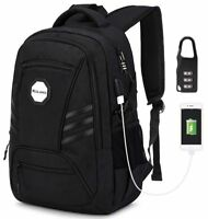 KOLAKO Business Laptop Backpack, Waterproof Casual Hiking Travel Daypack,