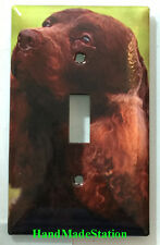 American Water Spaniel Dog Light Switch Power Duplex Outlet Wall Plate Cover