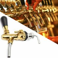 ❤ Adjustable Flow Control Draft Beer Tap Faucet G5/8 Long Shank Chrome Kegerator