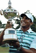 Jhonattan VEGAS SIGNED 12x8 Golf Photo 2 AFTAL Autograph COA PGA Tour Winner