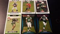 New York Jets Rookie Card Lot 6 Cards 06-08