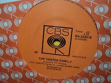 "Carter Family ""A Song To Mama"" 1974 CBS Oz 7"" 45rpm"