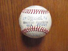 1971 American Association Signed All-Stars Baseball(AURELIO MONTEAGUDO/FRED RICO