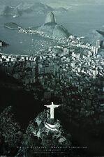 Rio de Janeiro POSTER 60x90cm NEW * Christ the Redeemer Statue Corcovado Brazil