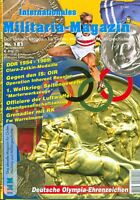 Militaria-Magazin IMM Nr 181 Orden Militärgeschichte Olympia Erinnerungsmedaille