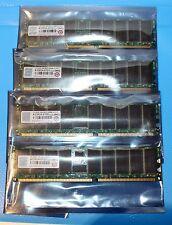4X1GB 4GB Transcend Memoria Ddr 266 REG DIMM CL2.5 - Nuevo A Granel