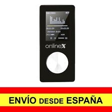Reproductor MP4 Video Radio FM de 8GB Media Player Negro a2956