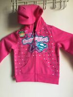 SUPERMAN  Hoodie buddie FOR  girls  size 3T