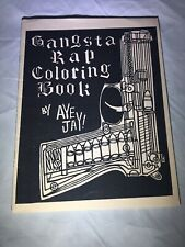 Gangsta Rap Coloring Book Hip hop NWA Tupac Shepard Fairey Banksy Kaws Graffiti