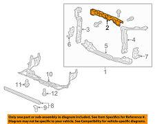 HONDA OEM 14-15 Civic Radiator Core Support-Upper Tie Bar 04602TR3A01ZZ