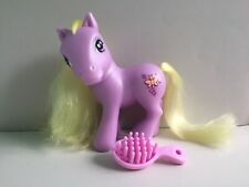 Hasbro My Little Pony G3 DOSEY DOTES 2005 with Original Brush EUC!