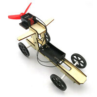DIY Assembled Wooden Wind Car Puzzles Toys Science Model Toys For Kid Learning