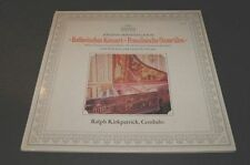 Bach Italian Concerto French Overtune Kirkpatrick Cembalo Vinyl LP Archiv DGG NM