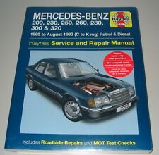 Repair Manual Mercedes W 124 200 230 250 260 280 300 320 1985-1993 Benzin Diesel