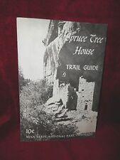 SPRUCE TREE HOUSE Trail Guide MESA VERDE NATIONAL PARK Colorado Vintage Booklet