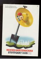 1939 Germany postcard Cover Stuttgart Garden Show