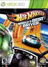 XBOX 360 HOT WHEELS WORLD'S BEST DRIVER BRAND NEW RACING VIDEO GAME