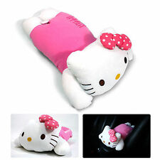 Genuine Hello Kitty Armrest Cushion Consoles Seat Covers Pillow Pad for Car