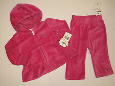 NWT PUMA hoodie jacket GIRL 2 PC size 12M  rose pink