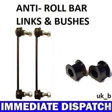 Volvo S40 & V40 2001-03 Front ARB Anti Roll bar Sway bar 2 x Bushes & 2 x Links
