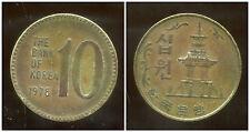 COREE DU SUD  10 won  1978