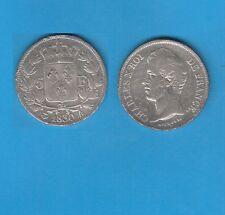/Gertbrolen/   5 Francs argent Charles X Tranche en relief 1830 Paris