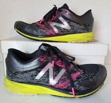 New Balance Strobe Running Shoes Black/Pink/Green Women Sz 7
