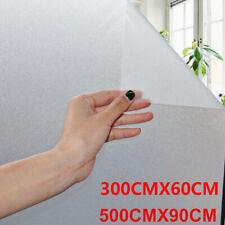 1/2/4er Fensterfolie Sichtschutzfolie Milchglasfolie Statische Folie Fenster