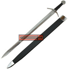 11th Century Crusader 1060 Sword Full Tang Tempered Battle Ready Hand Forged