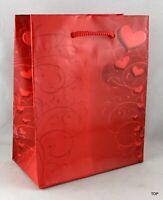 Geschenktüte 60492 Tulpe Tragetasche Papier 42x12x10cm glänzend Flasche