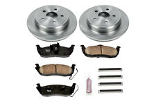 Disc Brake Pads & Rotors Kit Rear Power Stop KOE2221 W/ Powerstop Z16 Evo Pads