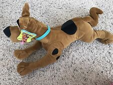 Scooby-Doo Plush Toy NWT From Six Flags Texas Laying Down
