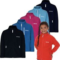 Regatta Marlin IV Kids Full Zip Fleece Jacket Girls & Boys Multi Colours