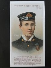 No.109 MIDSHIPMAN GUY Victoria Cross Heroes 101-125 REPRO Taddy 1904