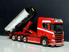 """Scania R normal CR20N 8x2 hooklift system+container""""Palfinger"""" WSI truck models"""