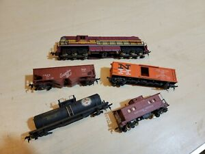 American Flyer 430 Alco Diesel Locomotive Fright Set