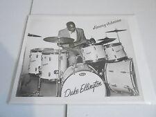 #942 VINTAGE 8x10 MUSICIAN PHOTO - ROGERS DRUMS -  JIMMY JOHNSON  DUKE ELLINGTON