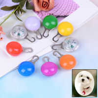 Fascinating Pet Dog Cat Puppy LED Flashing Collar Safety Night Light Pendant RDR