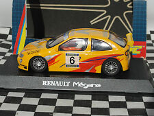 SCALEXTRIC RENAULT MEGANE CUP SUPER #6  YELLOW C2088  1:32 NEW OLD STOCK