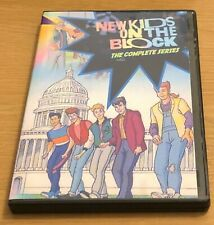 Rare NEW KIDS ON THE BLOCK CARTOON Compete Series DVD (15 Episodes) NKOTB
