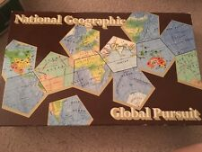 National Geographic Global Pursuit Board Game Geography New COMPLETE 1987