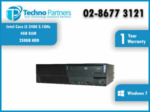 Lenovo ThinkCenter M91P 4518 SFF Desktop Computer i5-2400 3.1G 4G 250G Win 7 Pro